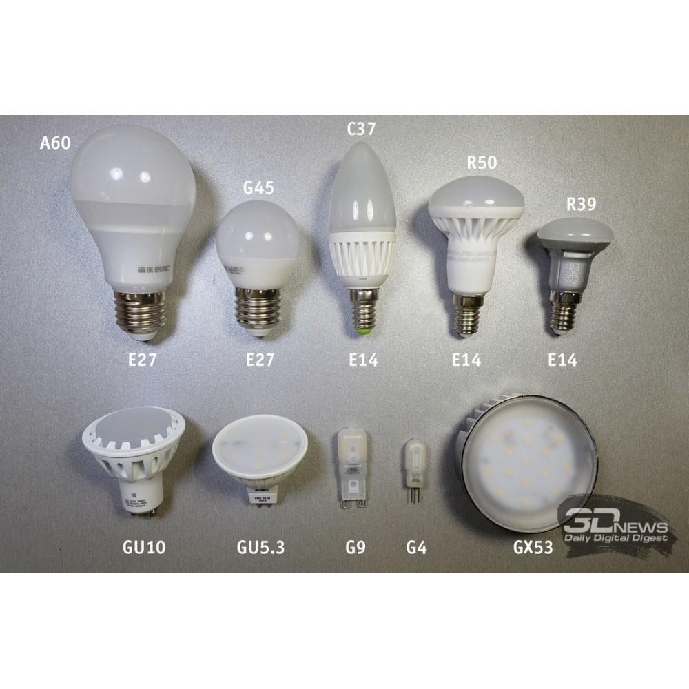 О бытовых LED лампах